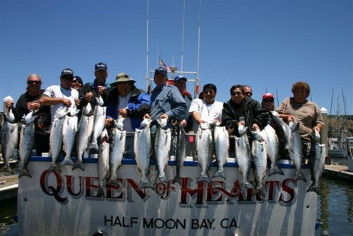 Queen of Hearts Sportfishing, Fishing Report, Pillar Point Harbor